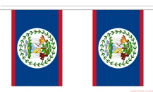 BELIZE BUNTING - 3 METRES 10 FLAGS